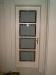 Zimmertür mit Glasausschnitt
