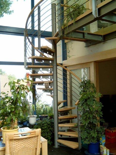 Treppe im Wintergarten