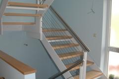 Holz + Stahl Treppen