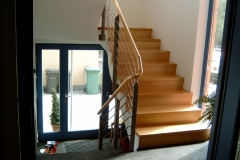 Stein + Holz Treppen
