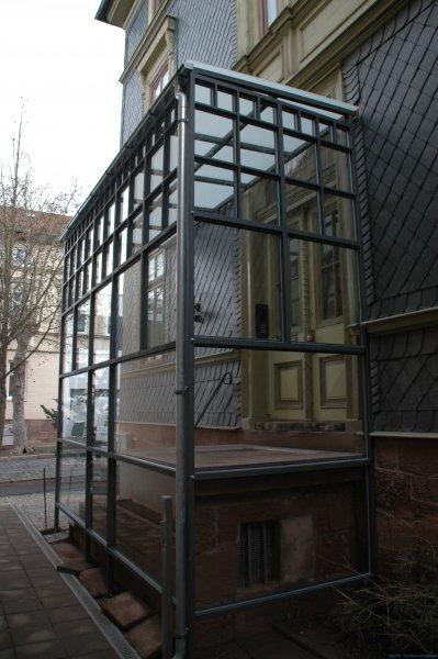 Überdachung Eingang